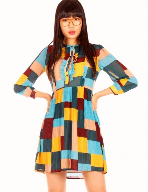 minueto-patchwork-dress-sku-192010-mix_1
