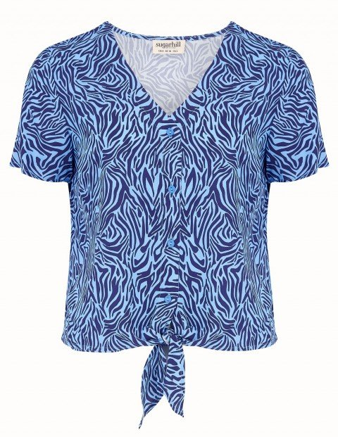 T0511_PEGGY TIE FRONT SHIRT_5